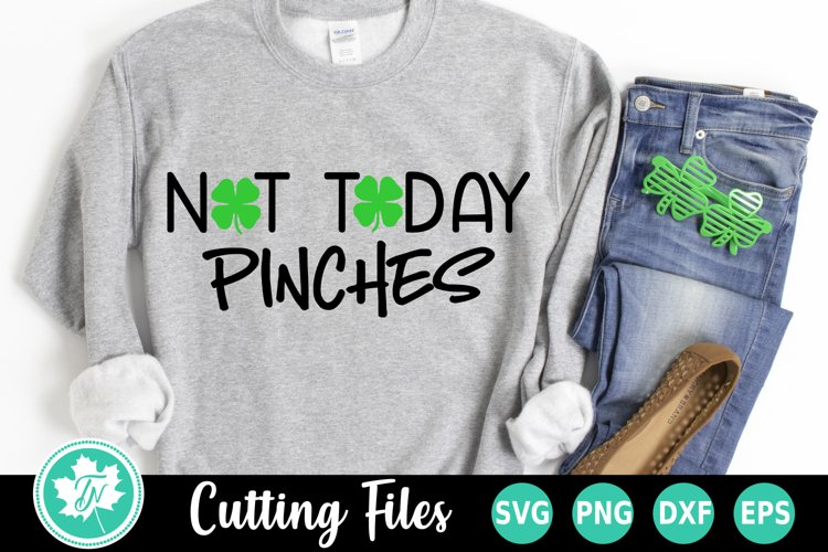 St Patricks Day SVG | Not Today Pinches
