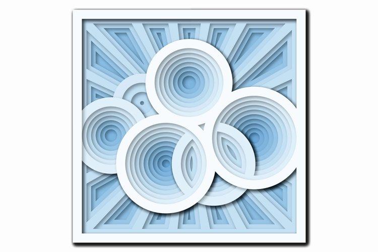 Download Layered Mandala Svg Laser Cut File Mandala 3d Cloud 553488 Laser Engraving Design Bundles