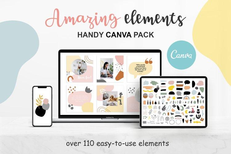 Amazing Canva Elements Pack example image 1