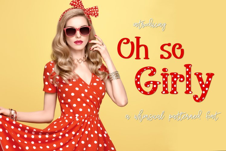 Oh so Girly example image 1