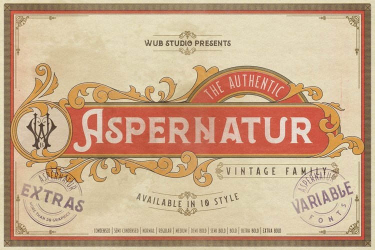 Aspernatur Vintage Family example image 1