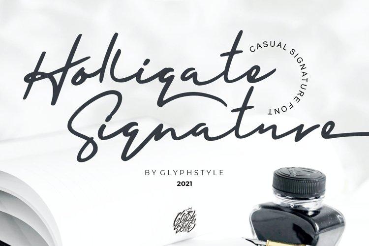 Holligate Signature example image 1