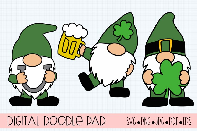 St. Patrick's Day SVG Cut Files for Cricut and Silhouette example image 1