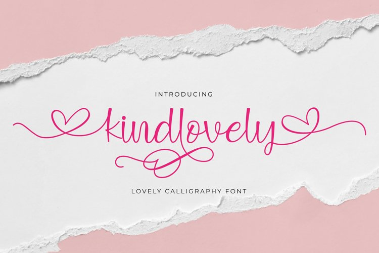 Kindlovely Script example image 1