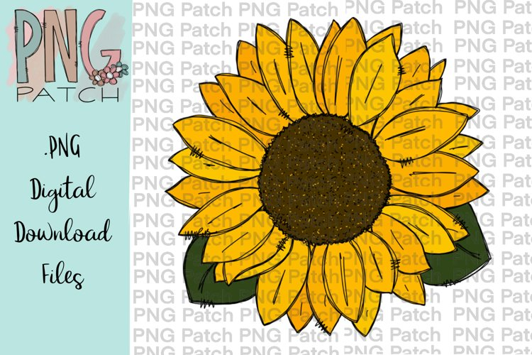 Sunflower, Flower PNG Files example image 1