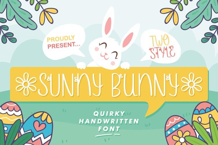 Web Font - Sunny Bunny example image 1