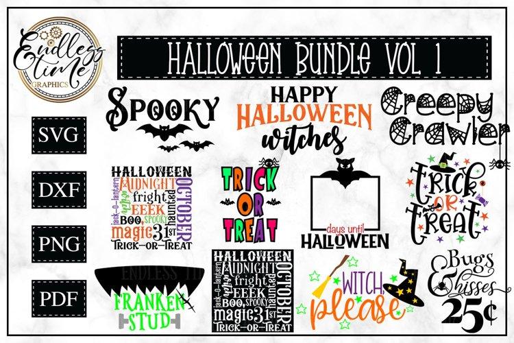 Halloween Bundle   11 SVG or Sublimation Designs