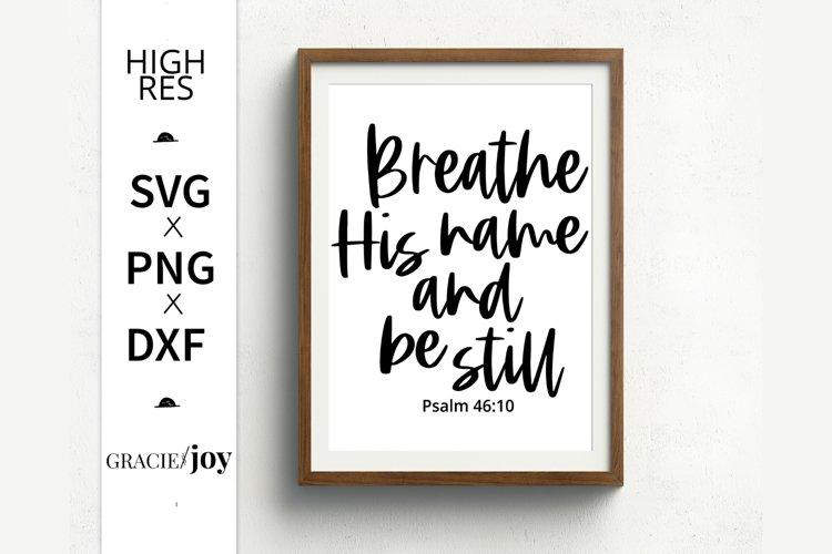 Psalm Bible Verse SVG
