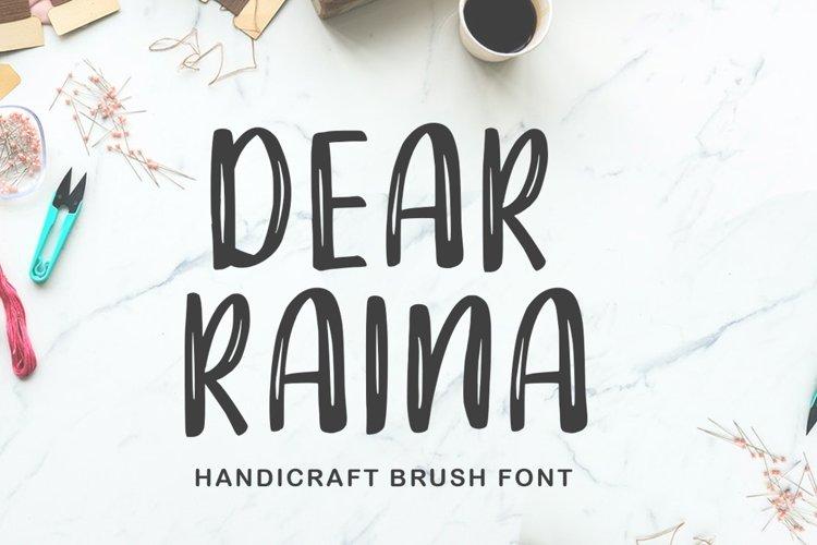 Dear Raina example image 1