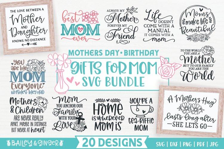 Mothers Day SVG Bundle | Mom SVG Bundle | Gift SVG Designs