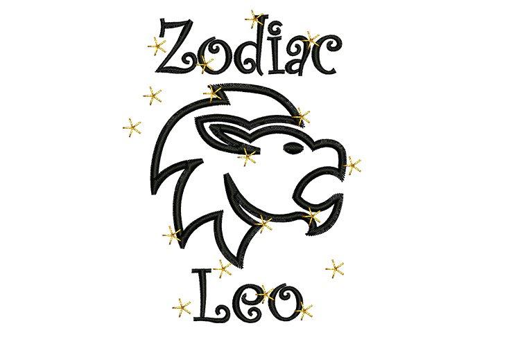 Leo machine embroidery designs