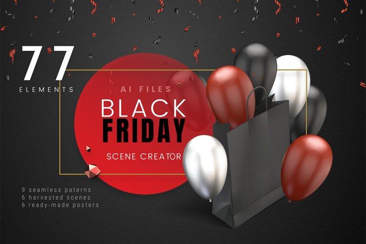 Black Friday / Vector Scene Creator