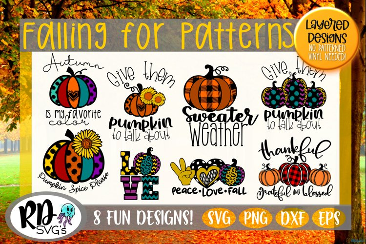 Falling for Patterns - A Layered Patterned Fall Bundle example image 1