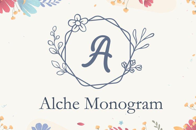 Alche Monogram example image 1