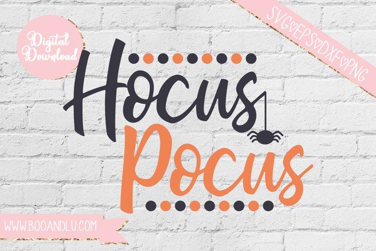 Hocus Pocus Halloween SVG EPS DXF PNG