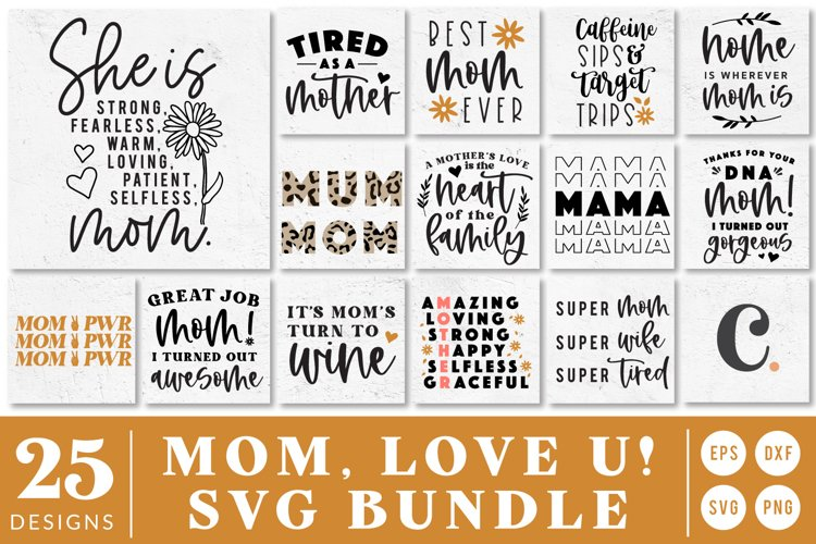 Mothers Day Quote SVG Cut File Bundle For Cricut!