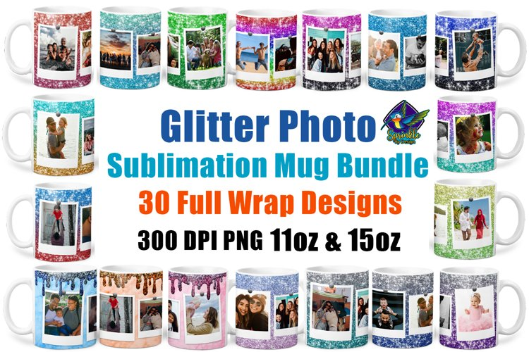 Mug Sublimation Bundle - Photo Sublimation Mug Designs