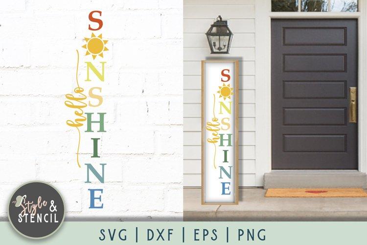 Hello Sunshine SVG   Porch Sign   Summer SVG