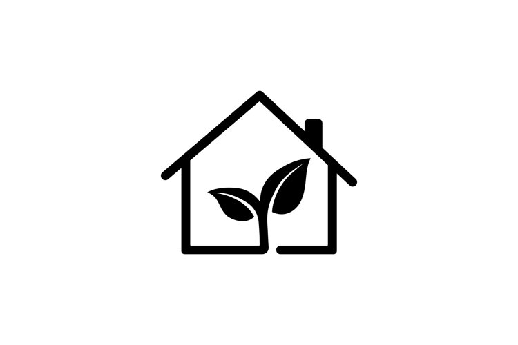 Eco house icon. Ecology concept. Vector example image 1
