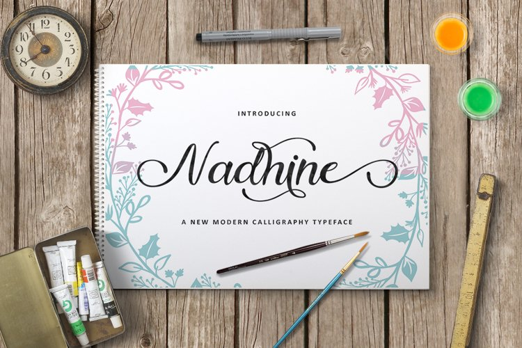 Nadhine Script example image 1