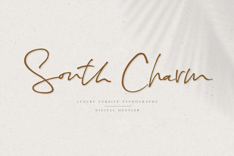 South Charm Font example image 1