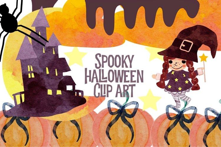 Halloween clipart Happy Halloween Digital Clip art spooky