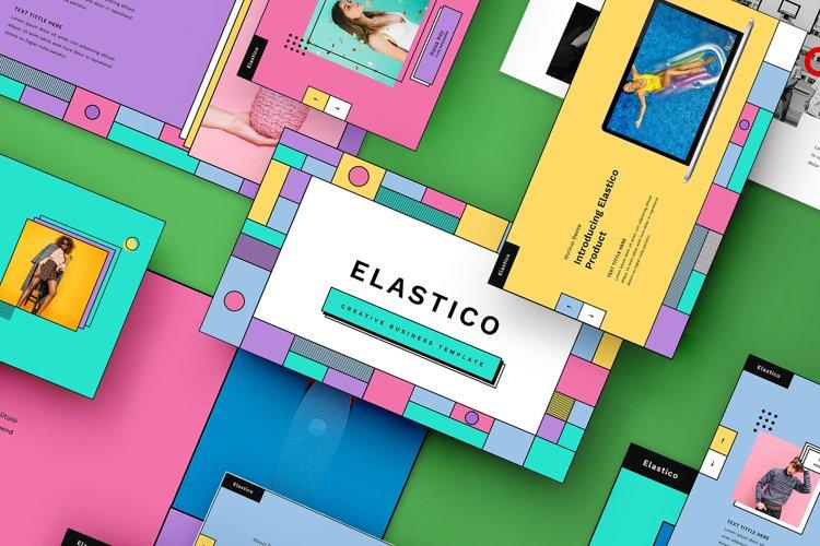 Elastico - Creative BusinessPowerPoint Template example image 1