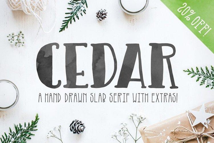 Cedar Font example image 1