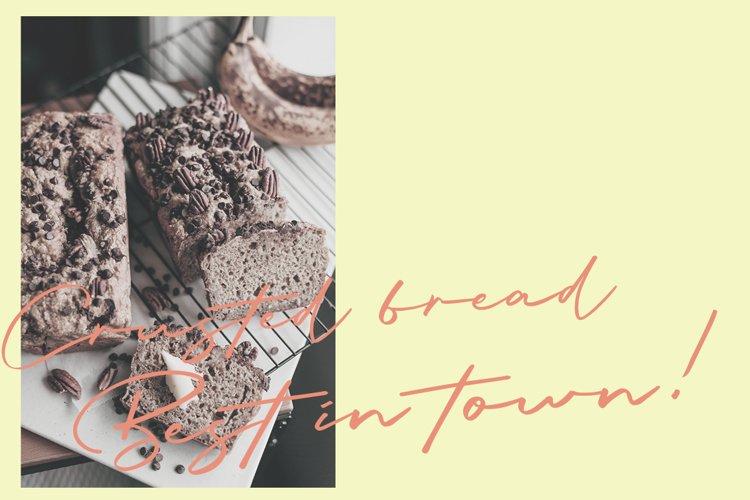 Briquete - Natural Brush Font example 8