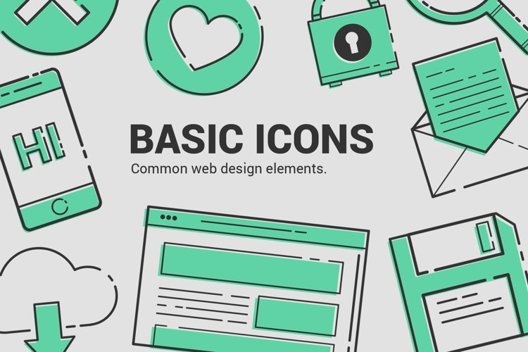 Basic Icons Vol.1