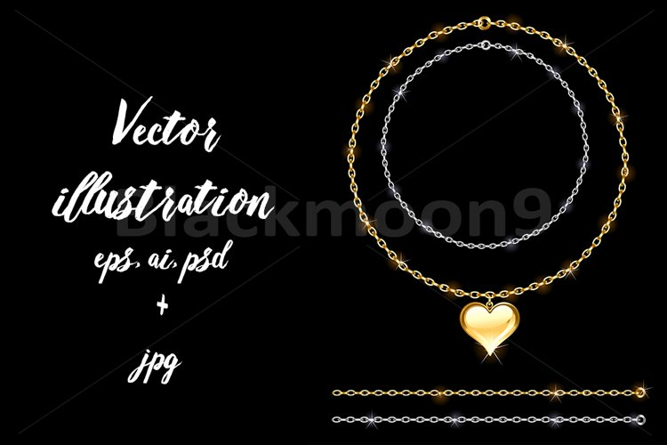 Gold and Silver Chains example image 1