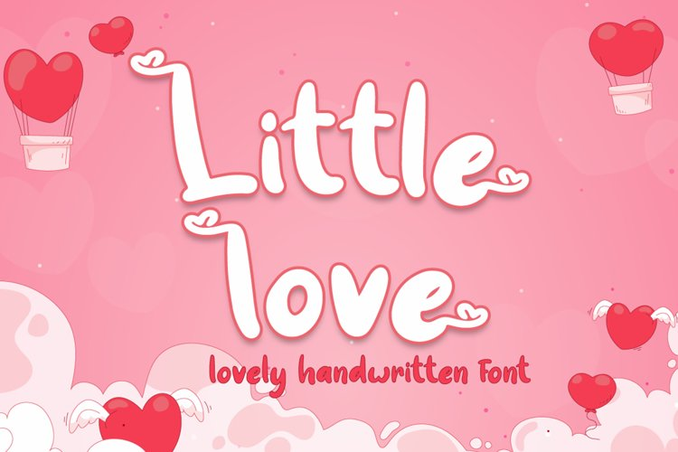 Little love - Lovely Font example image 1