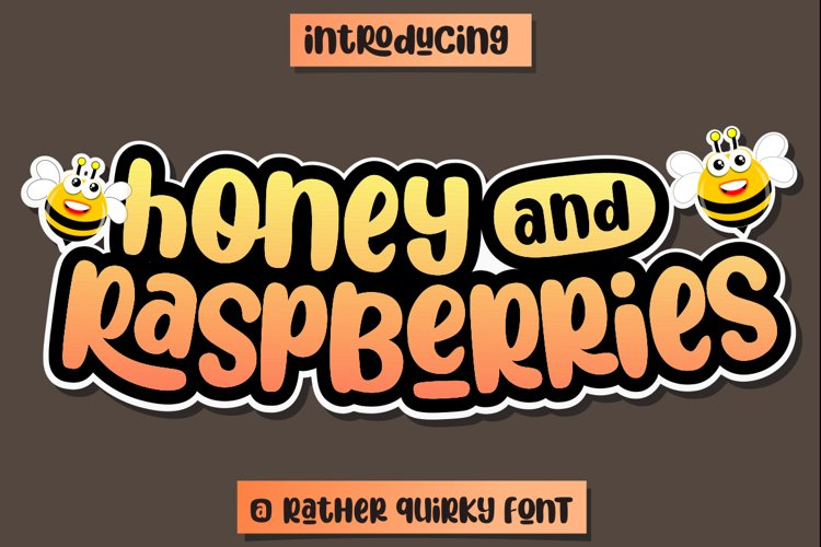 Honey and Raspberries example image 1