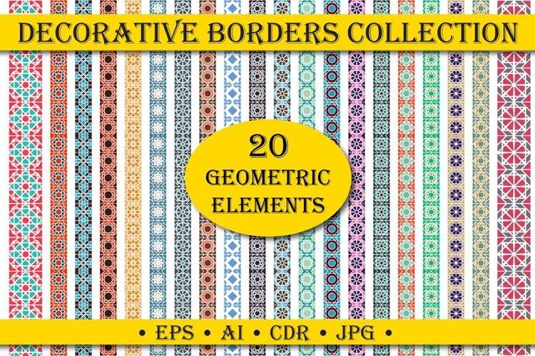 Download Decorative Pattern Borders Jpg Eps Ai Cdr 573842 Patterns Design Bundles