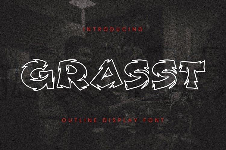 Web Font Grasst Font example image 1
