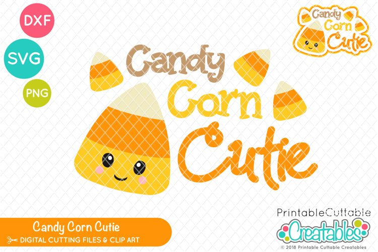 Candy Corn Cutie SVG example image 1