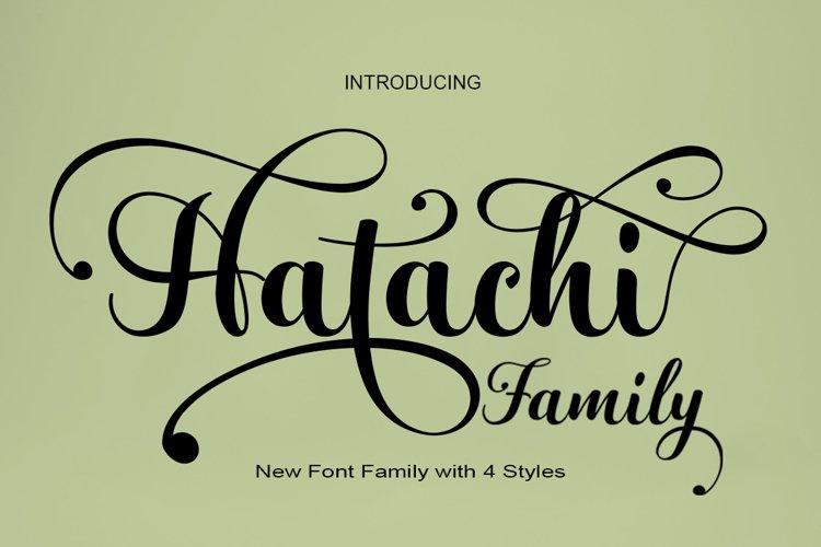 Hatachi Family example image 1