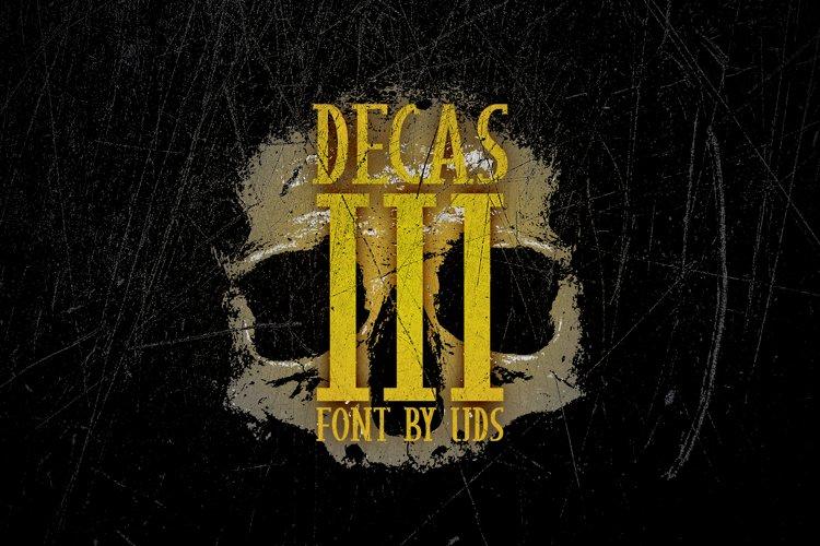 Decas III example image 1
