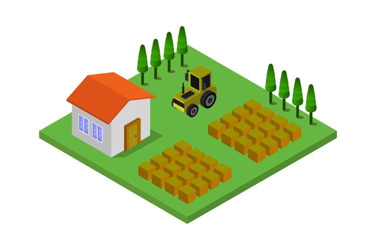 isometric farm example image 1