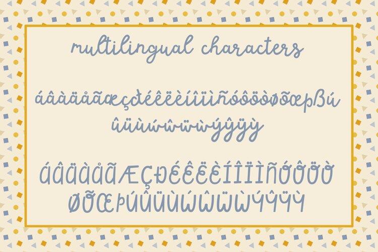 Happy Dance Script Font example 6