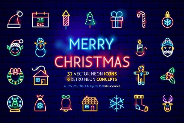 Christmas Neon example image 1