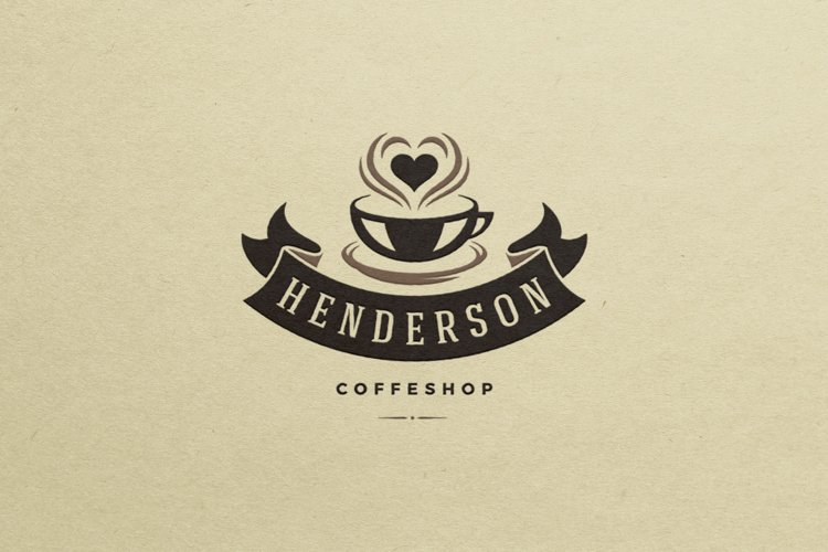 Coffee House Logo Design Template example image 1