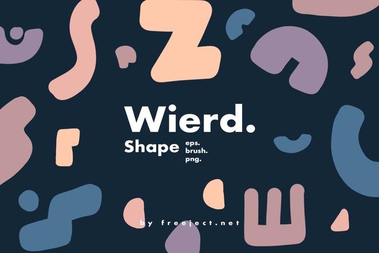 Wierd Shape Photoshop Brush, Vector   PNG