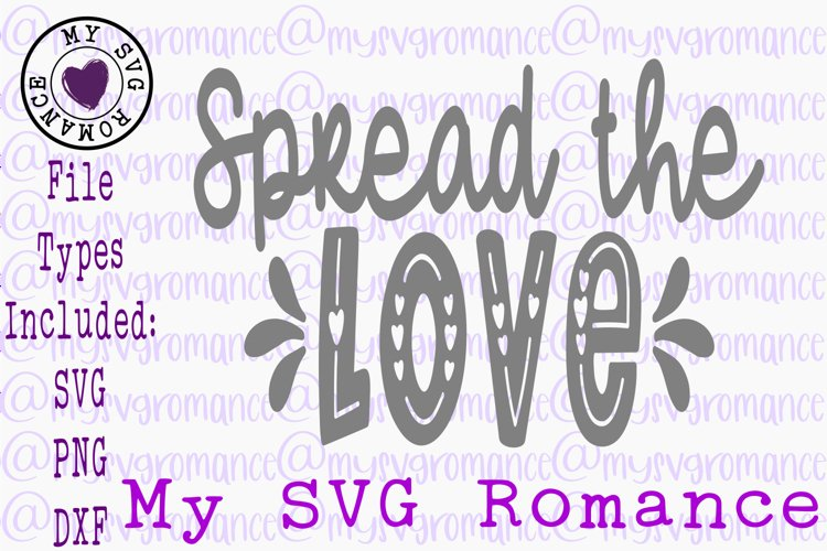 Spread The Love Pot Holder Tea Towel SVG DXF PNG