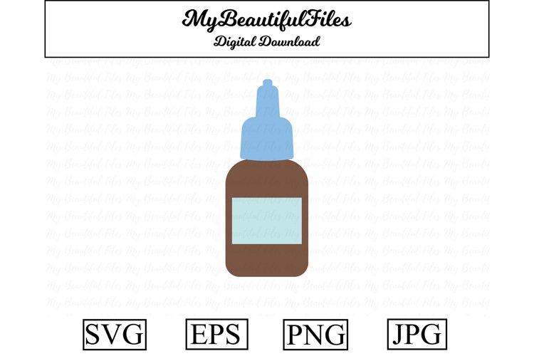 drops medicine SVG - medical SVG, EPS, PNG and JPG example image 1