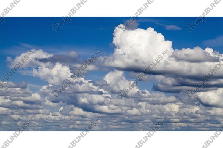 blue sky with clouds example image 1
