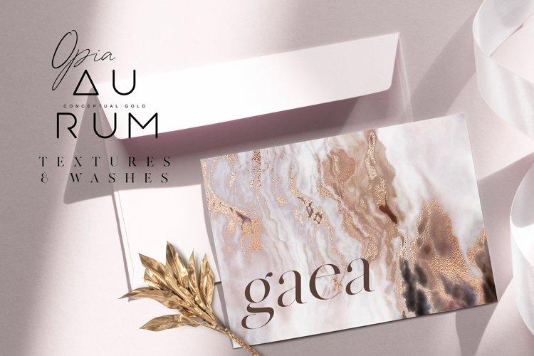Aurum - Conceptual Gold Textures & Washes