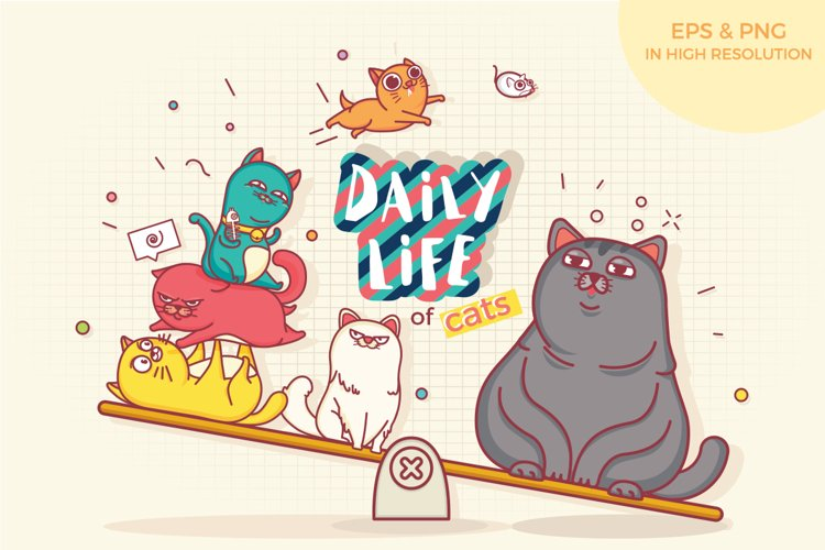 Daily Life Of Cats example image 1