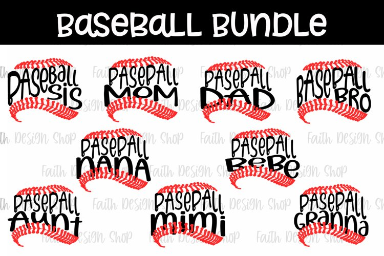 Baseball Family Bundle