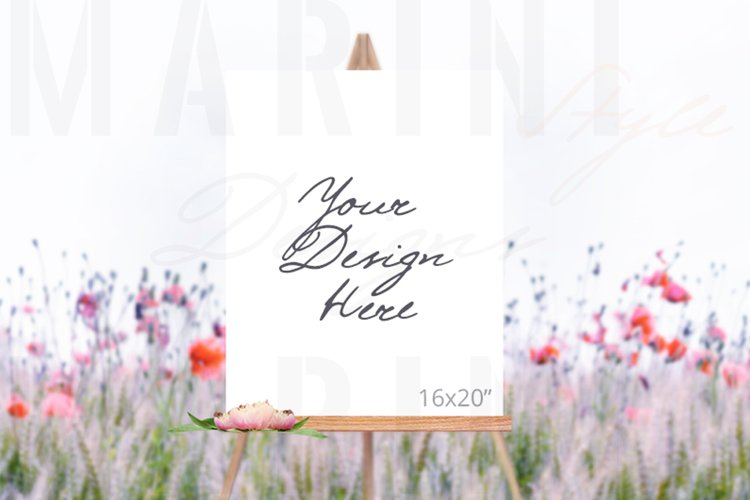 Easel Mockup, Wedding Sign Mockup, Welcome sign mockup, 993